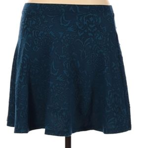 NWT Forever 21 Blue/Teal A-Line Skirt